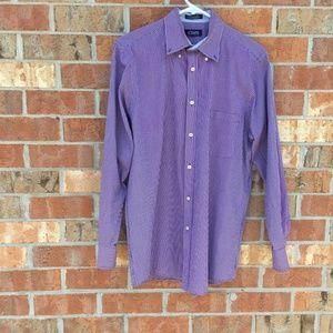 Chaps Men's Size 15-15.5 32/33 Classic Fit Shirt